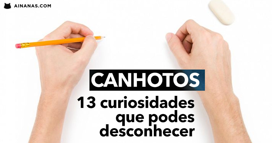 CANHOTOS: 13 curiosidades que podes não saber