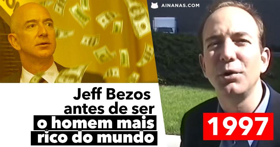 JEFF BEZOS em 1997 antes de ser o Homem Mais Rico do Mundo