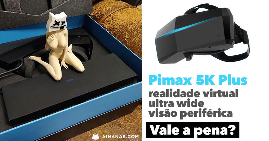 PIMAX 5K PLUS: realidade virtual em formato ultra wide