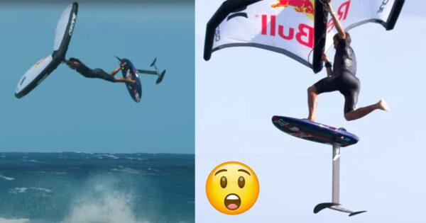 Compilação épica de WING SURF de Kai Lenny