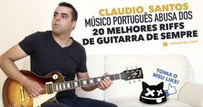 Músico Português ABUSA dos 20 Melhores Riffs de Guitarra de Sempre