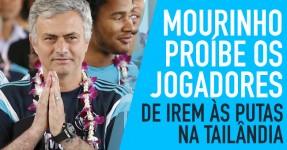 Mourinho Avisa os Seus Jogadores: Nada de ir às Putas