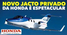 Honda lança incrível novo JACTO PRIVADO no valor de 5 milhões