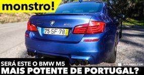 Será este o BMW M5 Mais potente em Portugal ?