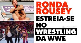 RONDA ROUSEY fez a sua estreia no Wrestling WWE