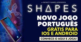 SHAPES: Infinity Games entra em 2018 em grande FORMA
