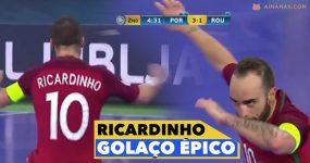 Vê-me este GOLAÇO do Mágico Ricardinho no Europeu de Futsal