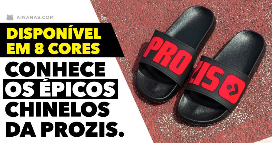 Cenário!!! Já viste os novos chinelos da Prozis?