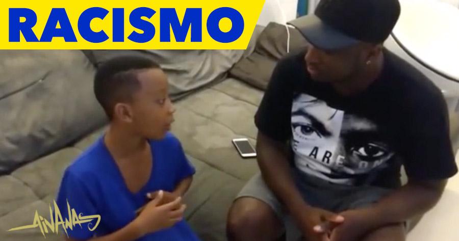 RACISMO NA ESCOLA: rapaz conta ao pai o que lhe disseram