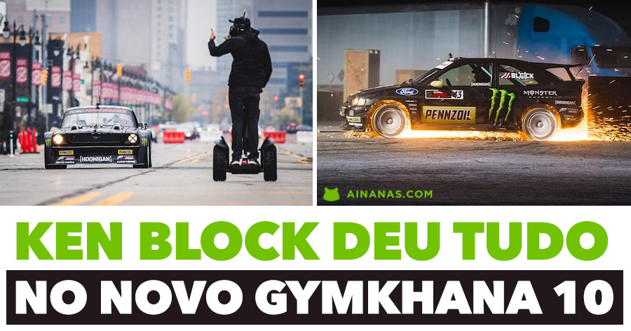 KEN BLOCK deu tudo no seu novo video GYMKHANA TEN