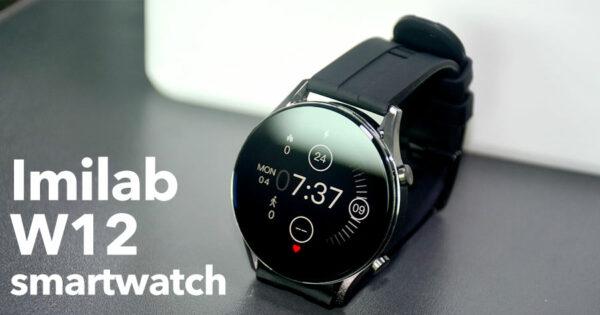 IMILAB W12: smartwatch desportivo e elegante