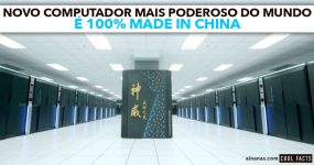 Computador Mais Poderoso do Mundo é 100% MADE IN CHINA