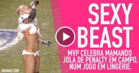 Gata é MVP e Celebra Mamando Jola em Campo
