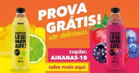 PROVA GRÁTIS as deliciosas limonadas da Prozis