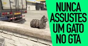 Nunca Assustes um Gato no GTA