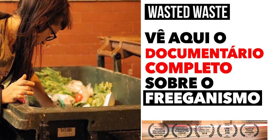 UM TERÇO dos alimentos acabam no lixo