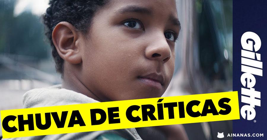 Campanha da Gillette recebe CHUVA DE CRÍTICAS nas Redes Sociais