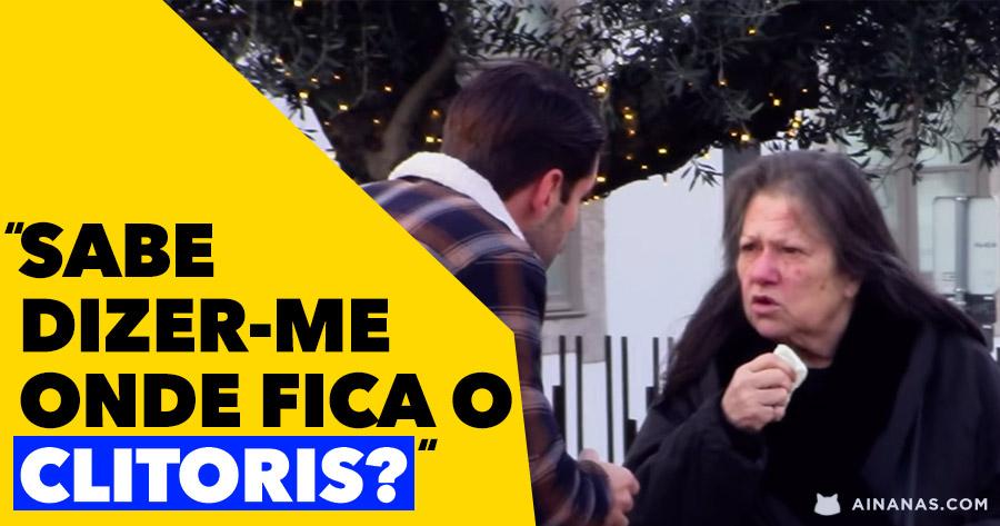 Jovem Português anda nas ruas à procura DO CLITORIS