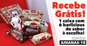 NOVA OFERTA PROZIS: Caixa 6 Barlicious Grátis!