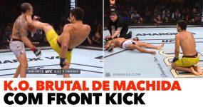 NINJA: K.O. brutal com front kick