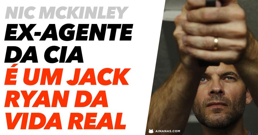 JACK RYAN da vida real: ex-agente da CIA