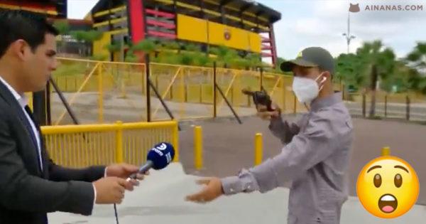 Jornalista ASSALTADO com ARMA DE FOGO