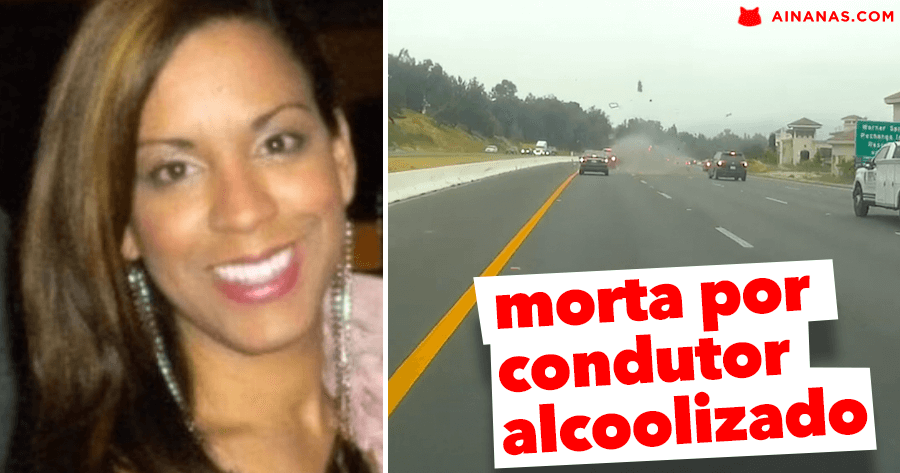 Condutor alcoolizado DESPEDAÇA veículo de condutora que seguia à sua frente