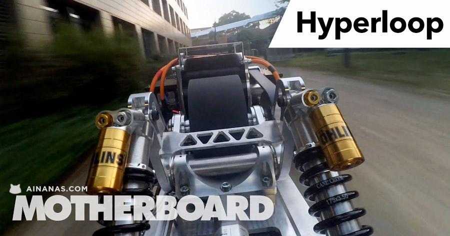 REVOLUÇÃO HYPERLOOP: vê o que está a acontecer!