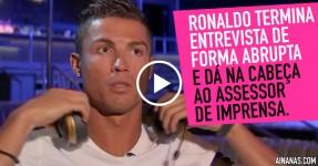 Cristiano Ronaldo Dá na Cabeça ao Assessor de Imprensa