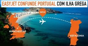 EasyJet confunde Portugal com Ilha Grega