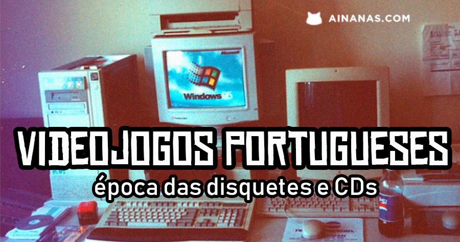 Videojogos Portugueses – a época da Disquete e CD-ROM