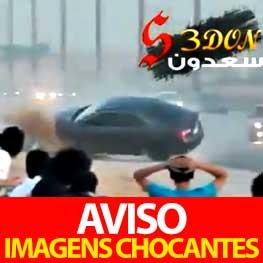 Acidente Horrivel na Arábia Saudita (VIDEO)