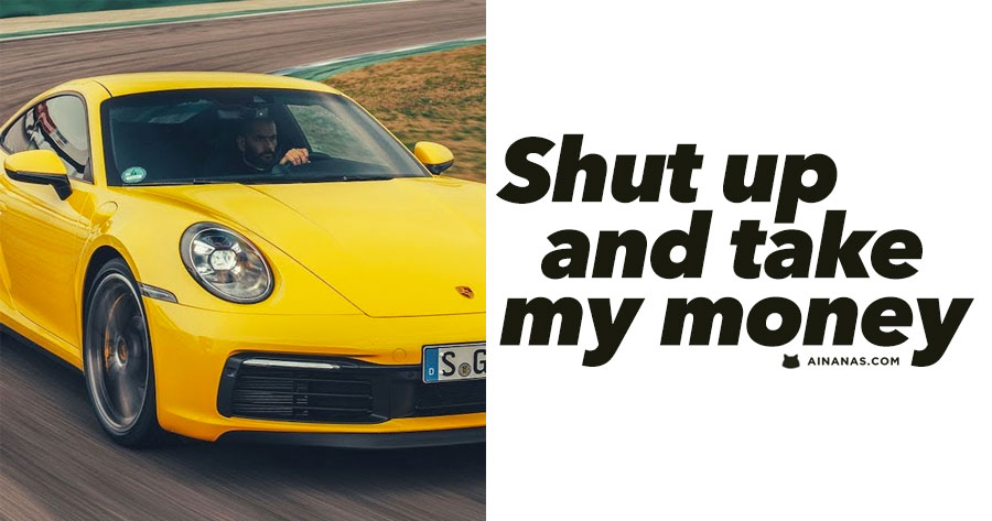 Novo PORSCHE 911 (992): shut up and take my money!