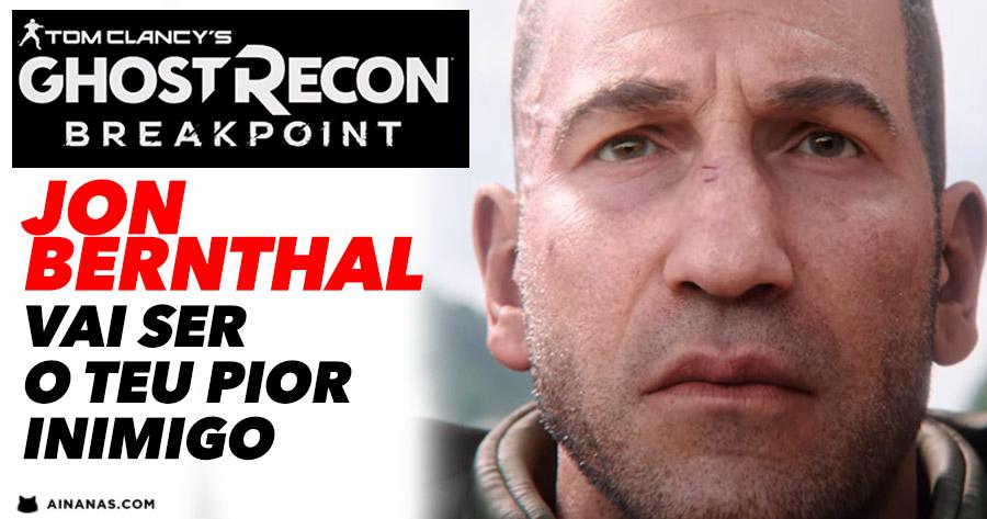 Em Ghost Recon Breakpoint, Jon Bernthal será o teu pior inimigo!