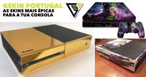 As SKINS mais épicas para a tua consola estão na GSkin Portugal