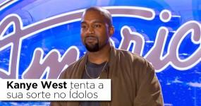 Kanye West Tenta a Sua Sorte no ÍDOLOS