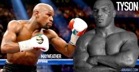 Mike Tyson Rebaixa Floyd Mayweather