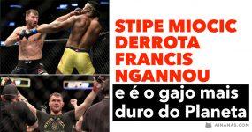 STIPE MIOCIC derrota Francis Ngannou e é o gajo mais duro do Planeta
