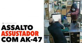 Assalto Assustador com AK-47