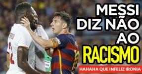 Messi Diz Não ao Racismo: Que Infeliz Ironia
