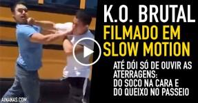 MAS QUE DOR: K.O. Filmado em Slow Motion
