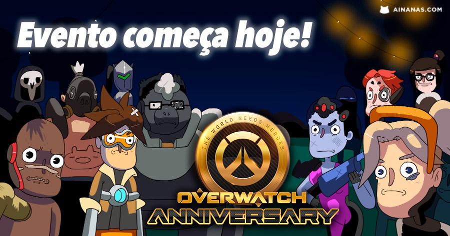3º Aniversário de Overwatch começa hoje!