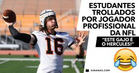 Estudantes TROLLADOS por Jogador Profissional da NFL