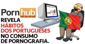 PORNHUB Revela como os Portugueses Vêem PORN
