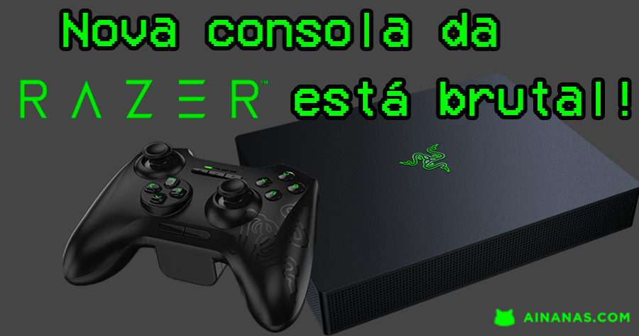 Nova Consola Da Razer Está Brutal!