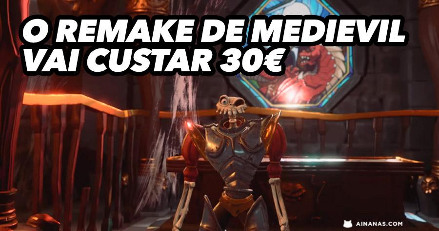 O remake de MediEvil vai custar 30€