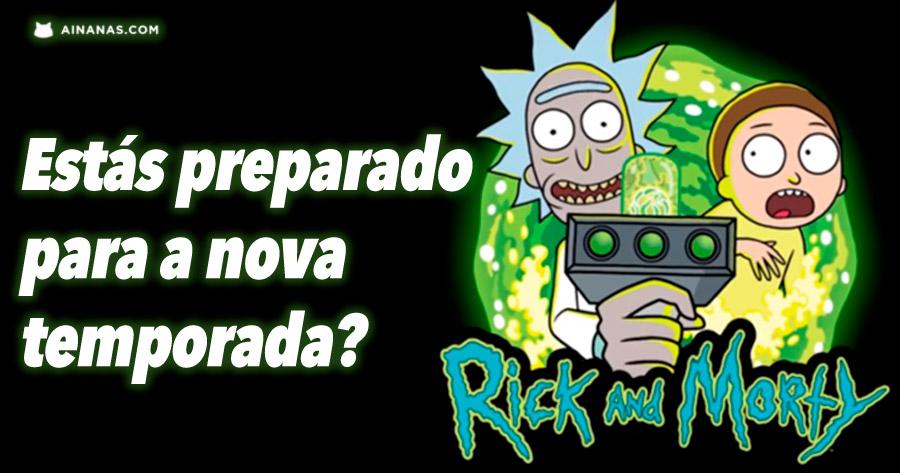 Rick and Morty estão de volta!