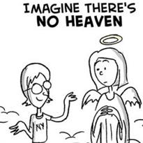 "Ilustração Brutal de ""Imagine"" de John Lennon"