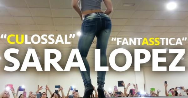 SARA LOPEZ: Novo Video num Angulo Fenomenal