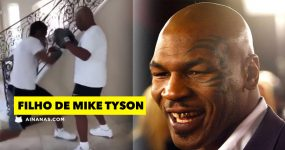 FILHO DO MIKE TYSON revela skills de boxe